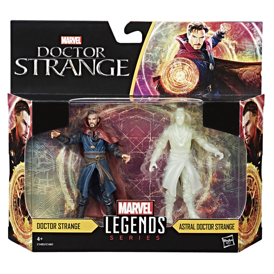 MARVEL LEGENDS SERIES 3.75-INCH 2-PACK Figure Assortment (Doctor Strange) - in pkg