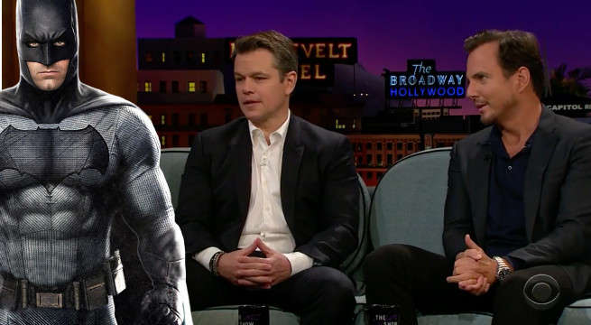 matt damon reveals ben affleck batman story real life joker