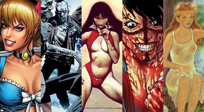 mature comics