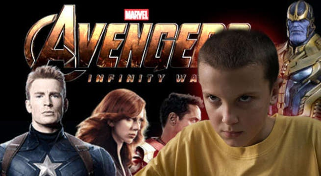 Millie Bobby Brown Is On Set Of Avengers: Infinity War