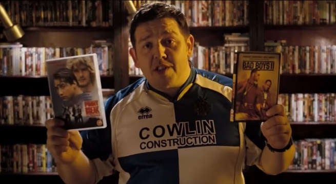 nick frost hot fuzz dvd collection