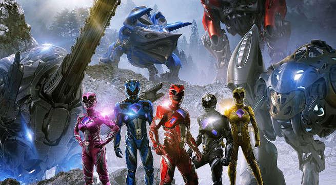 power rangers megazords new international poster