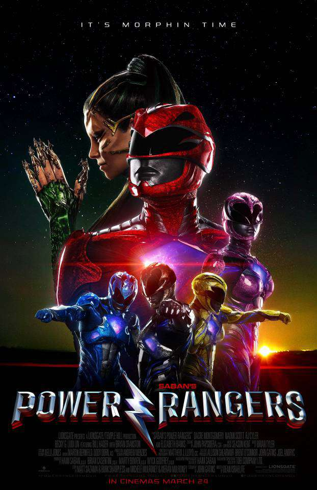 Image result for power rangers movie poster