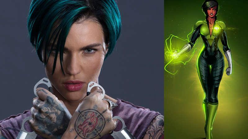 Ruby Rose as Sornak Natu in Green Lantern Corps