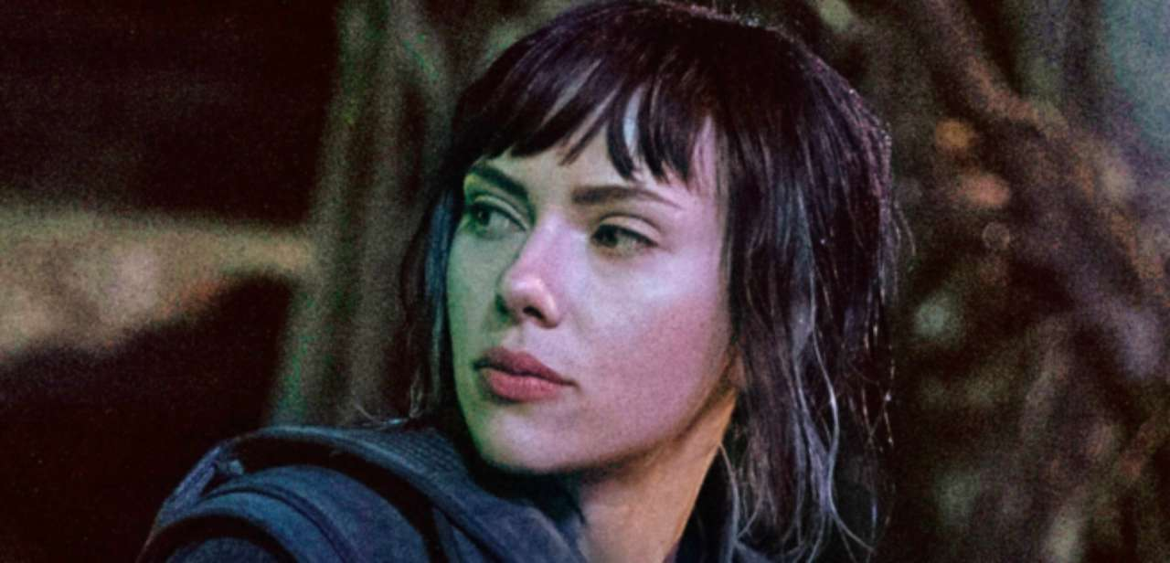 New Ghost In The Shell Image Of Scarlett Johansson Sitting Upon Futuristic Motorcycle