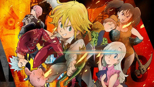 The Seven Deadly Sins Home Video Rights Secured By Funimation