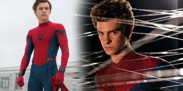 spider-man tom holland andrew garfield meet first time