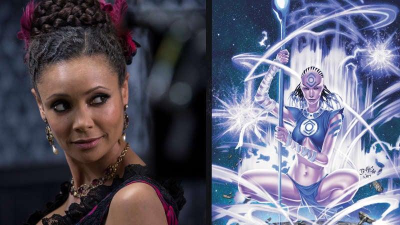 Thandie Newton as Indigo-1 in Green Lantern Corps