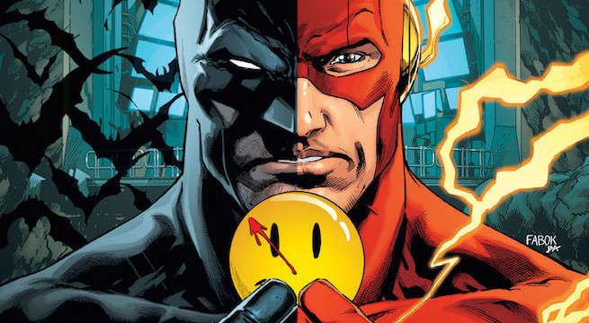 the flash batman crossover the button 21 spoiler returns