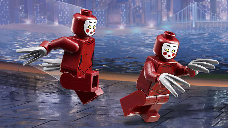 The LEGO Batman Movie Villains - Kabuki Twins