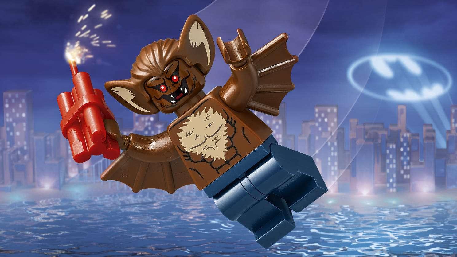 The LEGO Batman Movie Villains -  Man Bat