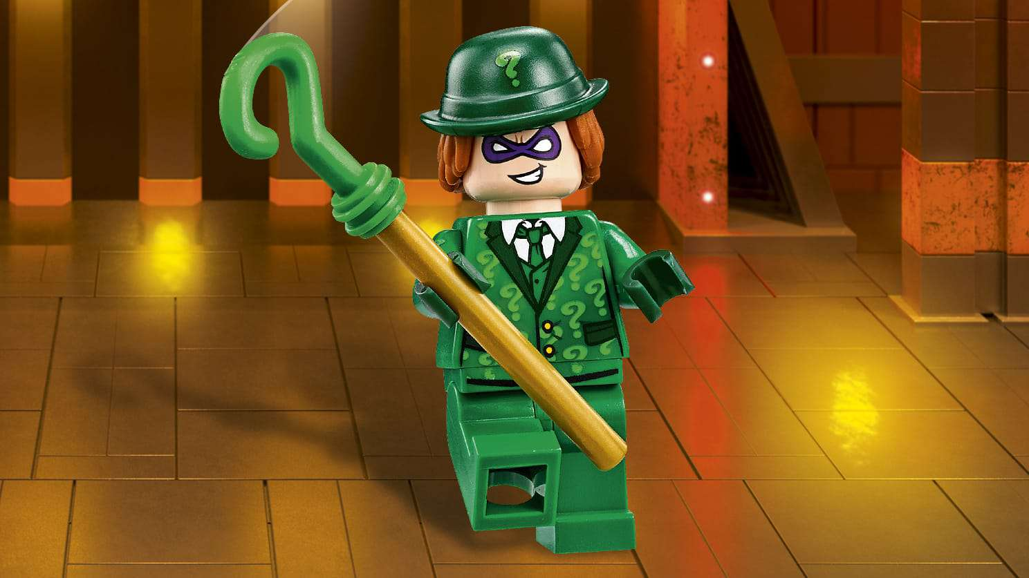 The LEGO Batman Movie Villains -  Riddler