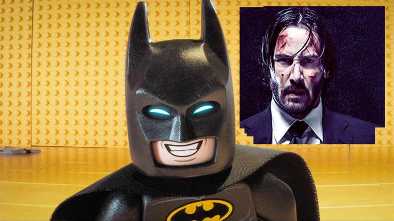 The LEGO Batman Movie vs John Wick 2