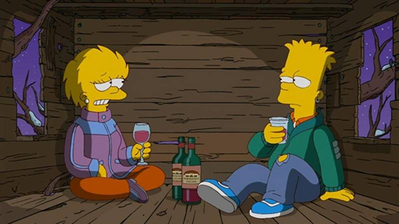 The Simpsons Reboot Adult Bart and Lisa