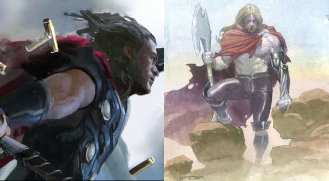Is Thor Wielding Jarnbjorn In The Avengers: Infinity War Teaser?