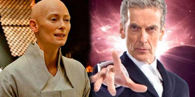tilda swinton doctor who rumored frontrunner replace peter capaldi