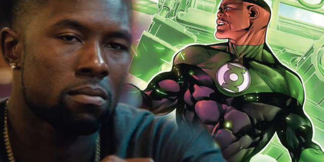 Trevante Rhodes Green Lantern Corps John Stewart