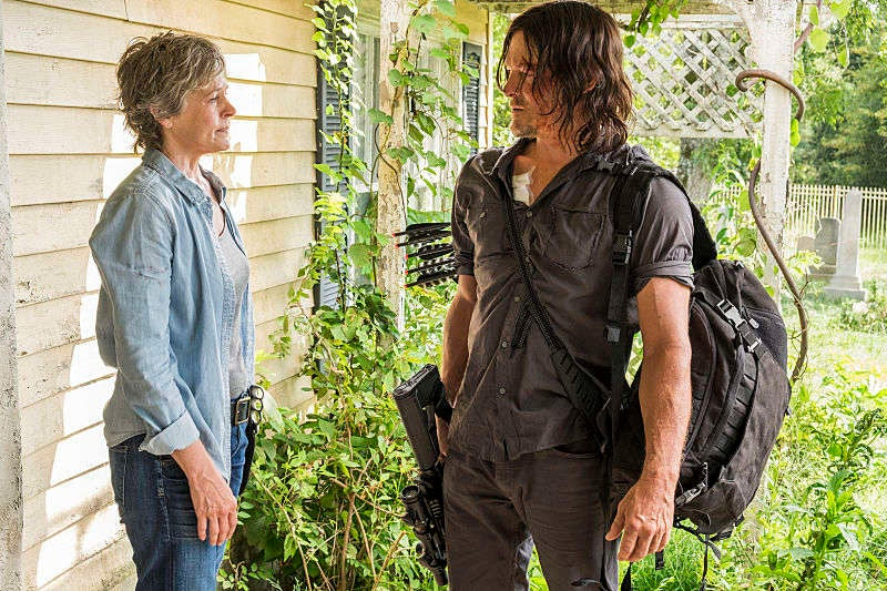 'The Walking Dead' Announces Daryl and Carol Spinoff and Fans Go Berserk