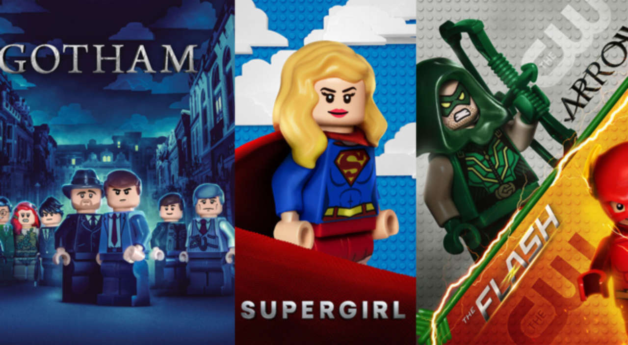 Gotham, Arrow, The Flash, Supergirl and WBTV Go LEGO for