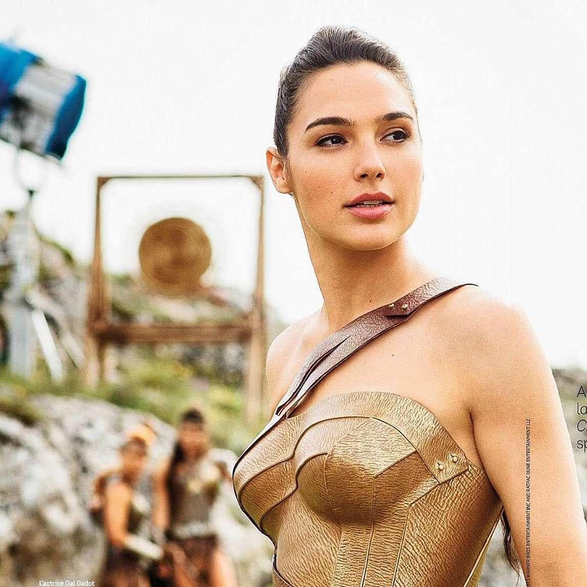 Fake gal gadot Wonder Woman:
