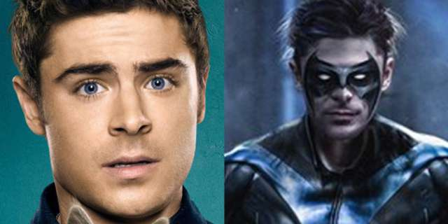 heres what zac efron could look like as nightwing