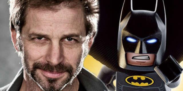 zack snyder loves lego batman movie