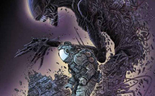 1 - April Comics - Aliens Dead Orbit