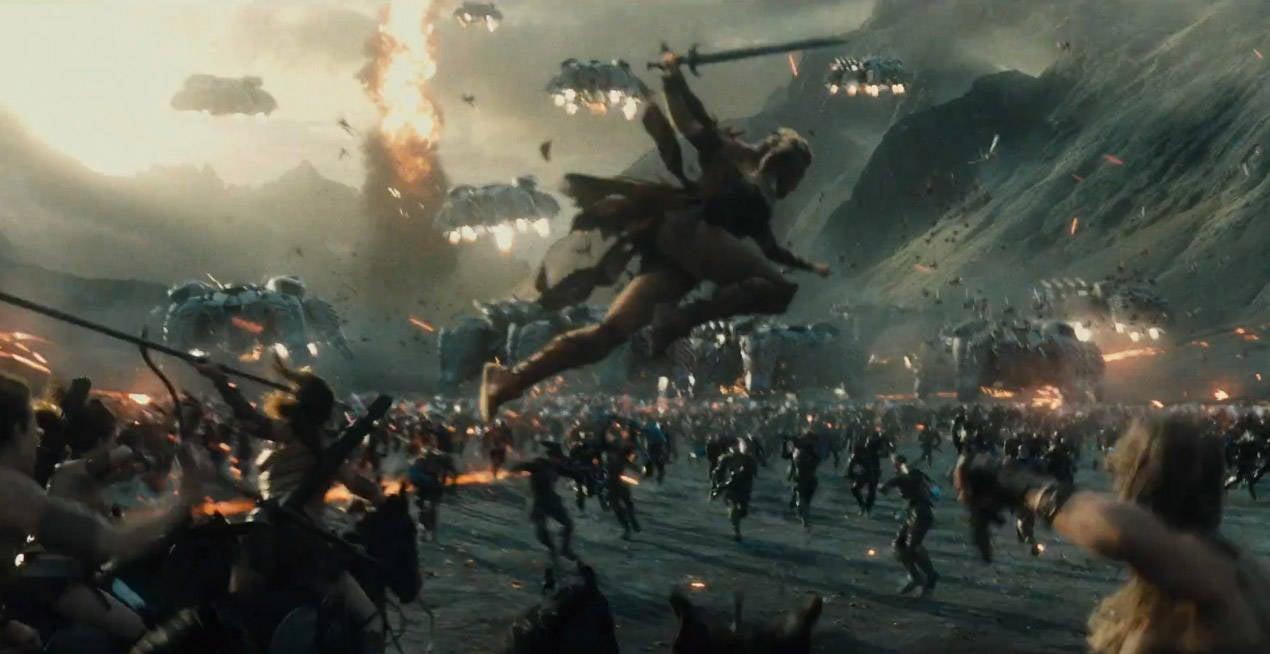 5 questions justice league amazon parademon apokalypse battle
