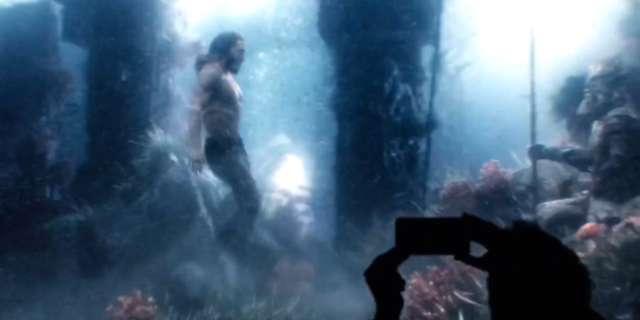 Aquaman Movie Visual Effects Test Underwater 3