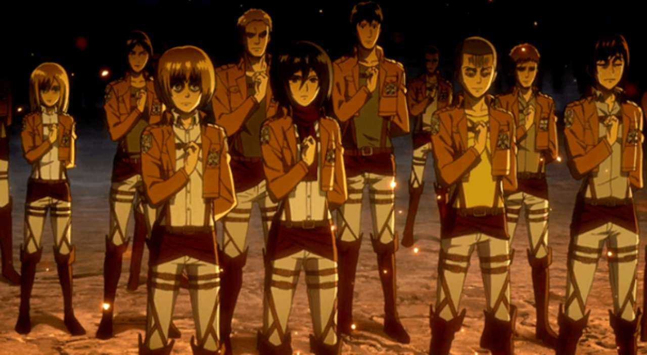 Attack On Titan Confirms Survey Corps Size Following ...