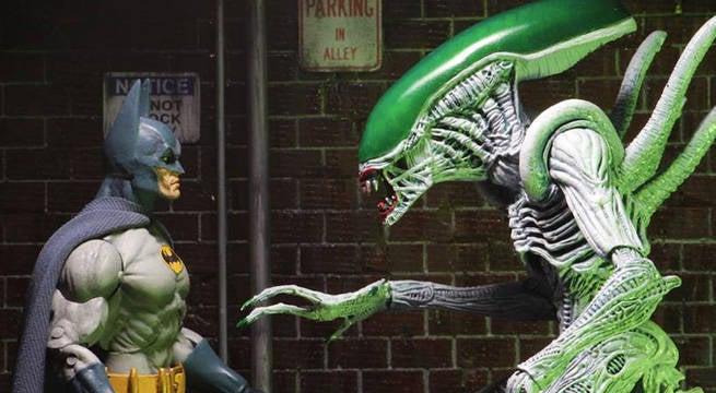 batman alien