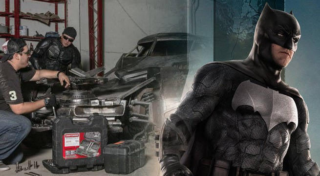 This Mind-Blowing Batman v Superman Batmobile Replica Was Made In 4 Months