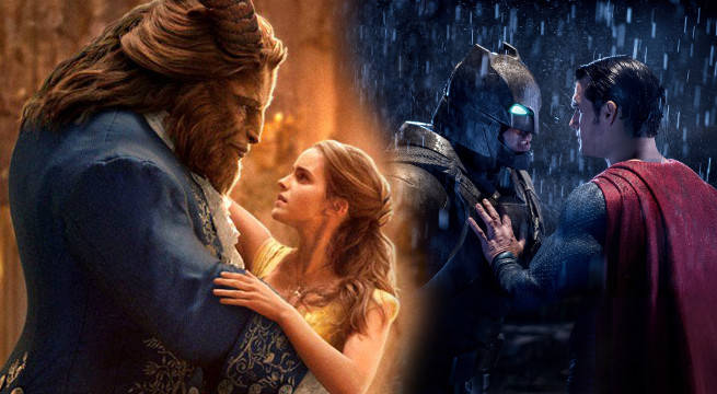 beauty and the beast breaks batman v superman dawn of justice box office record