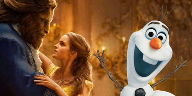 beauty and the beast frozen