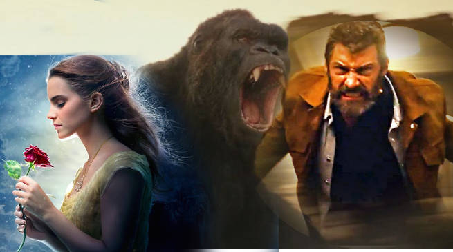 Beauty Beast Logan Kong Skull Island Box Office