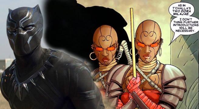 black panther set video reveals dora milaje