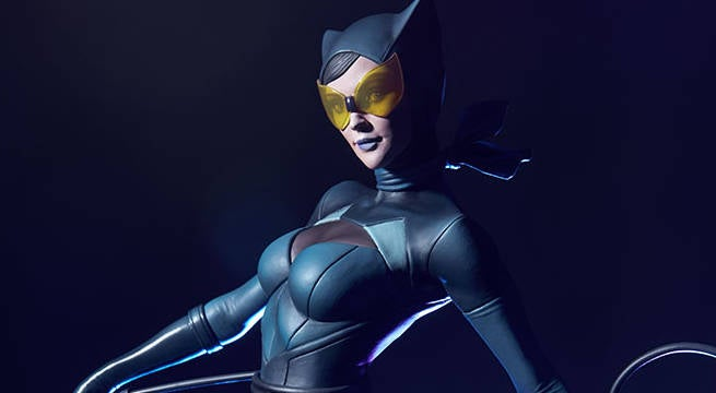 Catwoman Artgerm Statue Unveiled By Sideshow