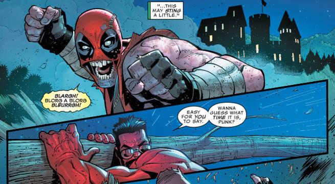 Deadpool hulk red hulk fight us avengers