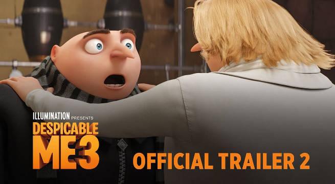 despicable me 3 trailer 2