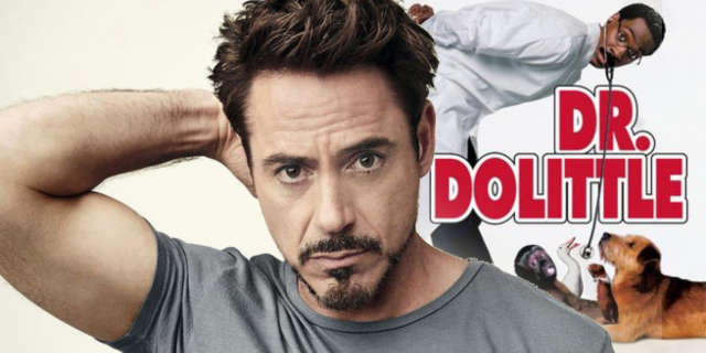 doctor dolittle reboot robert downey jr