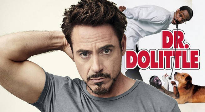 doctor dolittle reboot robert downey jr