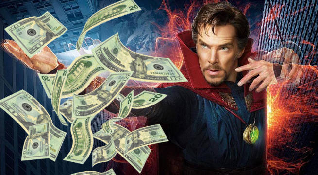 doctor strange box office impressive run numbers