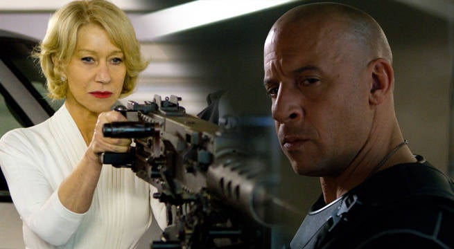 Vin Diesel Reveals How Helen Mirren Got Cast In The Fate Of The Furious