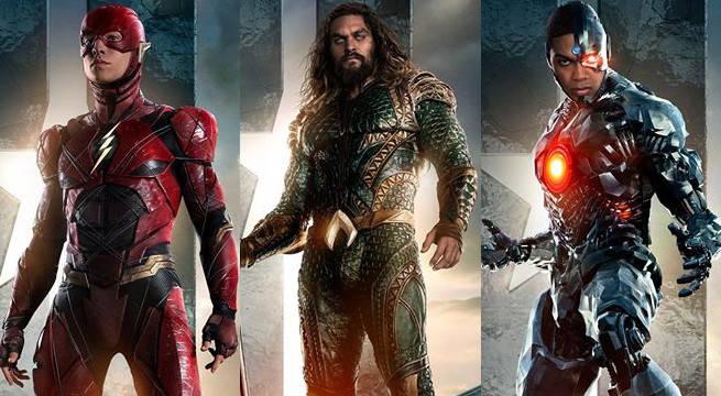 Flash Aquaman Cyborg
