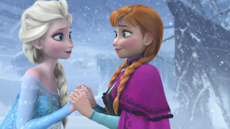 Frozen Original Ending Anna vs Evil Elsa