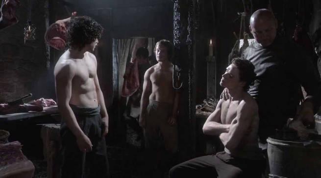 Game of Thrones Worst Scene Pilot Jon Rob Theon