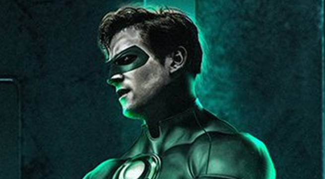 Justice League: Armie Hammer As Green Lantern Gets A Matching Fan Poster