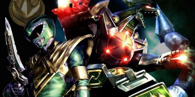 Green Power Ranger and Dragonzord by KATTALNUVA