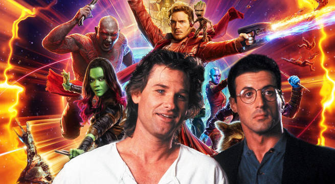 guardians of the galaxy vol 2 sylvester stallone kurt russell more marvel movies james gunn