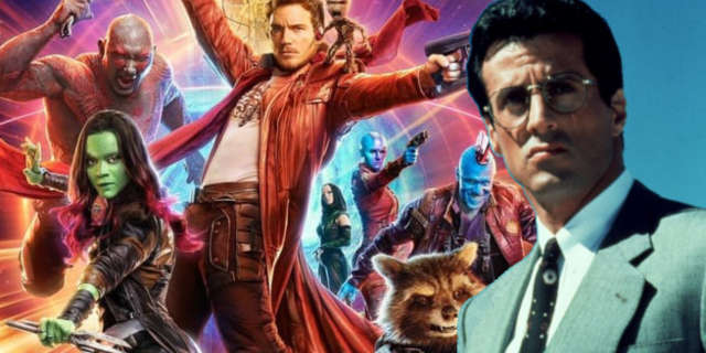 guardians of the galaxy vol 2 sylvester stallone mystery role teased james gunn